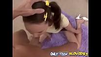 cerita sex melayu: Naughty Megan Young Putting to Work Her Tongue Polishing thumbnail