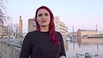 GERMAN SCOUT - Rothaarige Studentin Melina bei Strassen Casting fuer Geld gefickt pornhub video