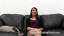 Girl Next Door Gets Ambush Creampie on Casting Couch Vorschaubild