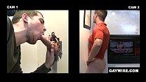 Gaywire - Blake Savage Bravely Sticks His Big Dick Inside Of A Dirty Glory Hole