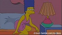 Lesbian Hentai - Lois Griffin and Marge Simpson thumb