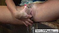 Screenshot Taylor Vixen  sexy solo masturbation
