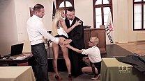 XXX Justice - Judge orders Hot Group Sex and DP treatment Vorschaubild