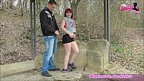 Jogger fickt deutsche kurvige rot haarige teen outdoor Vorschaubild