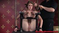 Bonded Submissive Ashley Lane Chokeplay