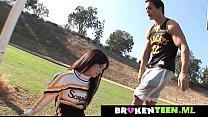 Cute cheerleader drains the coach's balls www.brokenteen.ml