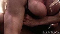 Naked Female Bodybuilder Ashlee Chambers Sexy Workout thumbnail
