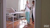 Femdom Doctor Angelica Heart Fist Fucks Arteya In Clinic