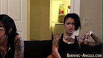 Emo babe gets bbc cumshot - download porn videos