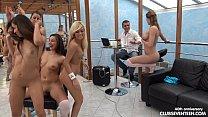 1 lucky guy and 40 girls reverse gangbang - 9Club.Top