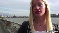 German Scout - Blond Teeny Angela Vital Seduce to Fuck