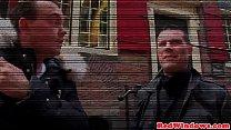 Real dutch prostitute riding tourists dick [네덜란드 Dutch]