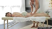 Big tit girl gets massage and fucks - 9Club.Top