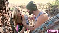 Trickery - Kali Roses gets fucked during Birdbox challenge pornhub video