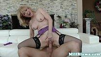 porn desi video - classy mature cougar riding young studs dick thumbnail