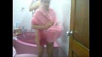 Desi Couple Taking Bath Together In Bathtub
