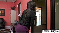(lela star) Big Tits Office Slut Girl Banged Ha...