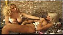 Beautiful Busty Blonde Gets Bukkake Image