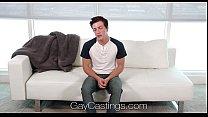GayCastings - Gay Porn Casting Agent Fucks Logan Taylor