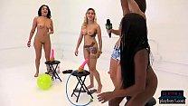 Amateur chicks ride a dildo balloon pump for money - javjunkies thumbnail