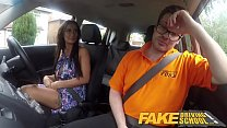 Fake Driving School Posh cheating wife with great tits has loud orgasms preview image