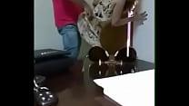 Culiando con la secretaria en la oficina