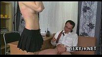 Raunchy spoo ning with teacher