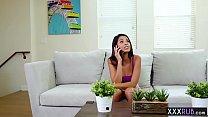 Naughty latina babe massage a hot teen with big tits, 60plusmilf thumbnail