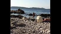Nudist beach Croatia