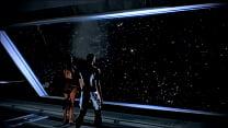 Mass Effect - Samara And Shepard Romance - Compilation