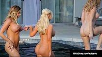 Girl Girl 3Way w/Penthouse Pets Nikki Benz Samantha & Angela - Download mp4 XXX porn videos