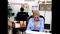Pussy Play will she get caught by the boss?  - xchatreviews.com thumbnail