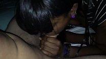 EPIC @Andregotbars POV Blowjob! Black girl Slurps on fat WHITE cock صورة