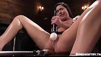Karlee Grey loves her fucking machine's Thumb