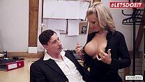 LETSDOEIT - Busty German Secretary Fucked Hard By Her Boss Vorschaubild