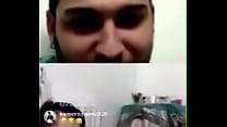 دختر ایرانی در لایو اینستا برای دوست پسرش ساک میزند