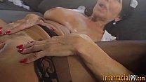 Busty milf rides big cock thumbnail
