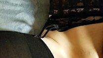Naughty teen Kittenn's creampie surprise. Shows panties full of cum. POV thumbnail