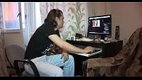 Русская просит чтобы ей полизали видео