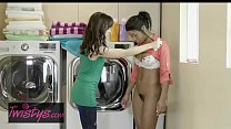 Image: Mom Knows Best - (Alana Cruise, Mya Mays) - Money Laundering - Twistys