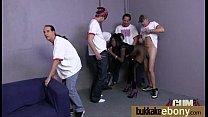 Amazing IR group sex action with stunning ebony 28's Thumb