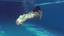 Underwater Hungarian teen Kittina Clairette