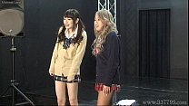 Free download video bokep Japanese femdom Shuri Atomi and MIRANO makes sl...