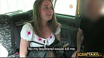 Hot Scarlet rides a cab and gets pounded hard in the backseat by big cock driver ⁃ amputee porn thumbnail