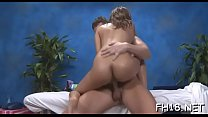 Very hawt 18 year old pretty gets fucked hard doggy style by her massage therapist pornhub video