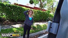 BANGBROS - Sexy Blonde Hustler, Lilli Dixon, Boards The Bang Bus
