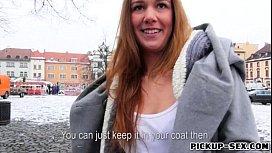 Lovely amateur Czech girl...