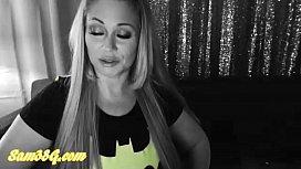 Samantha38g batLady cosplay livecam...