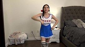 Slutty Teen Cheerleader Fucks Step Brother Part 1