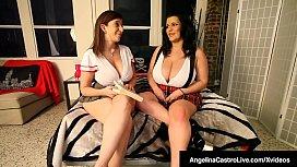 BBW Angelina Castro and...